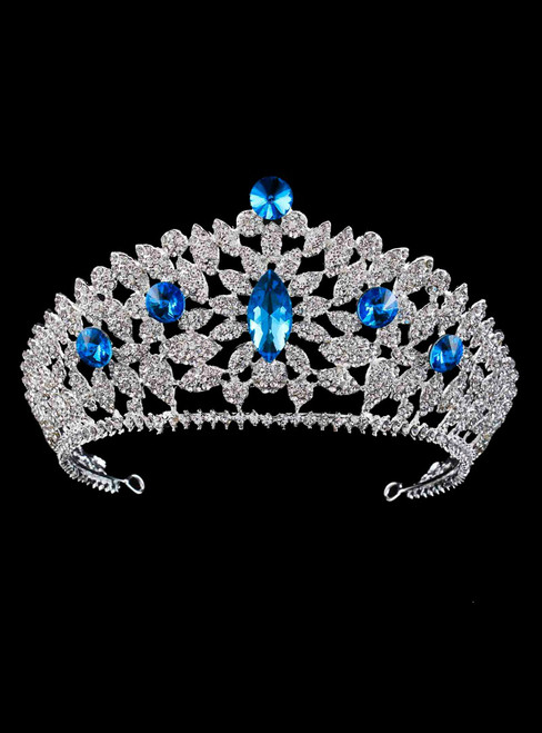 Bridal Tiara Rhinestone Crown Hair Accessories Wedding Bride