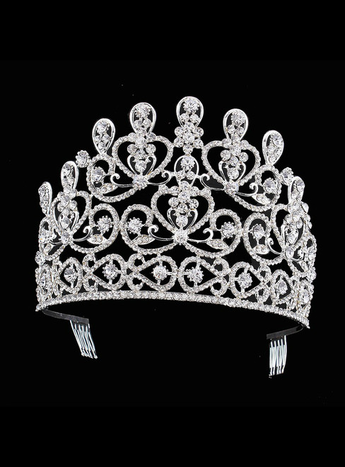 Bride Crown Wedding Hair Accessories Diamond
