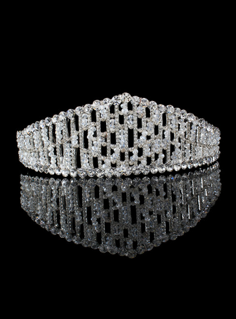 Luxury Wedding Birthday Adult Crown Headdress