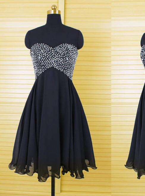 Charming Homecoming Dress Chiffon Homecoming Dress Sweetheart Homecoming Dress