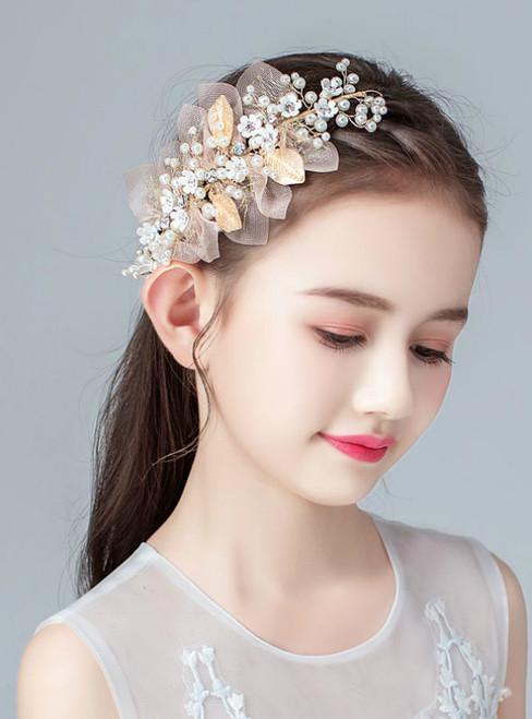 Children's Headwear Princesses Hair Accessories Garlands Flowers.