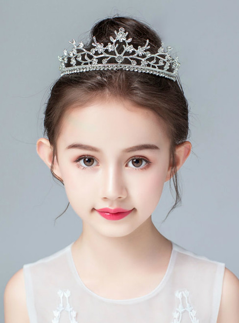 Crown Tiara Princess Korean Rhinestone Hairband Small Crown
