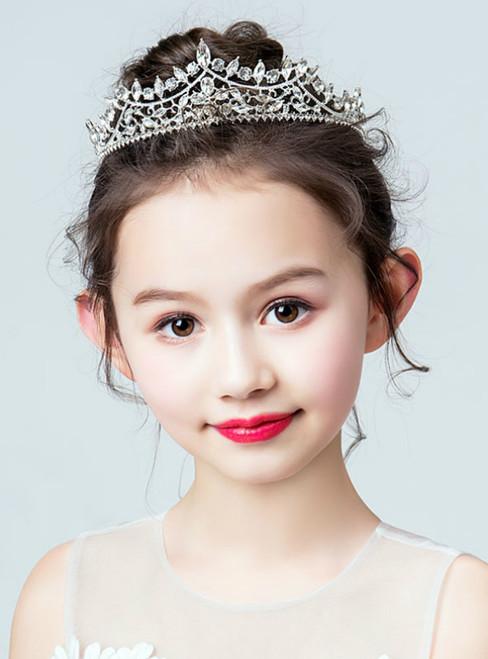 Crown Tiara Princess Crystal Hairpin Hairband Crown