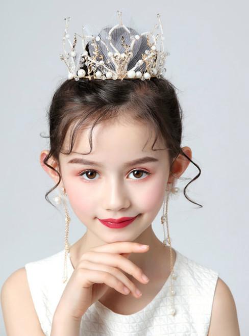 Crown Tiara Crown Corolla Birthday Hair Accessories Set