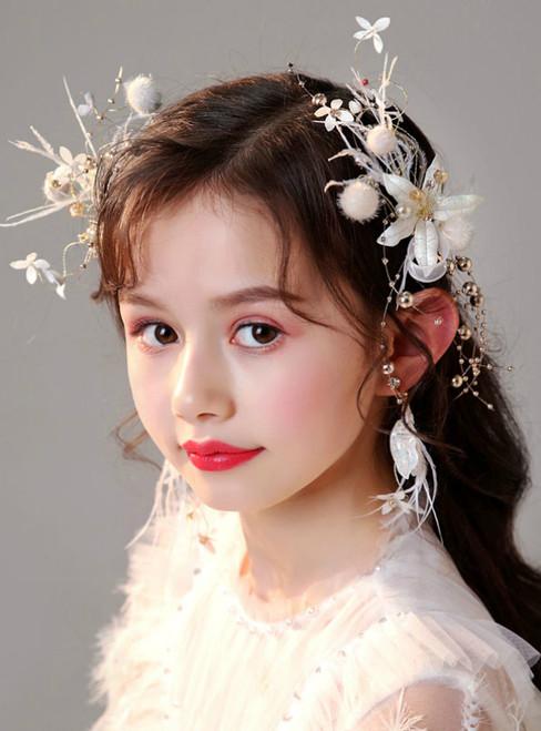 Children's Headwear Princess Headdress Hairpin Jewelry Set
