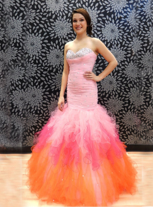 Long Mermaid Sexy Prom Dresses For Pageant Elegant Sweetheart