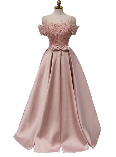 Long Prom Dresses Sleeveless Prom Dresses Satin Party Prom Dresses
