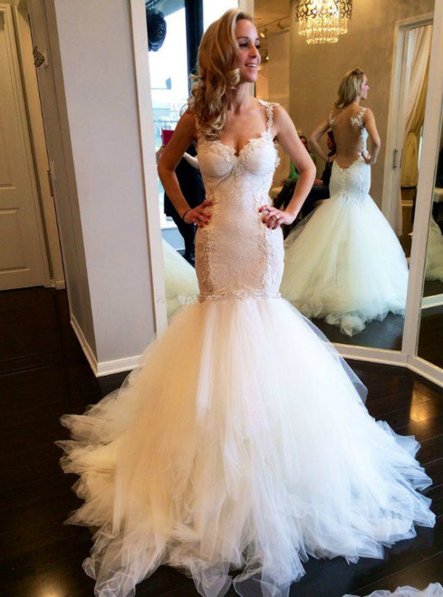 Vintage Wedding Dresses Lace Wedding Dresses Mermaid Wedding Dresses