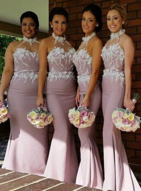 Sexy Bridesmaid Dresses Long Mermaid Lace Bridesmaid Dresses