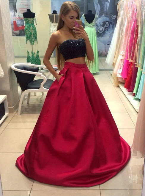 Chiffon Prom Gown Lace Evening Dress Prom Dress Evening Gowns Formal Dress