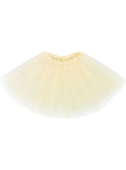 Adult Cream Tulle Tutu Skirt
