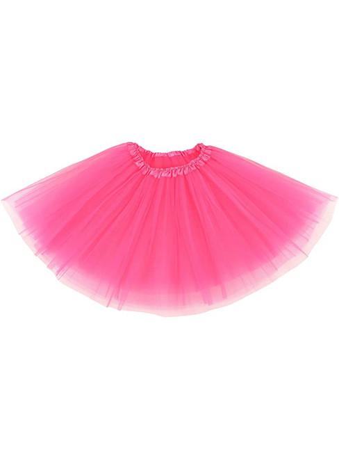 Hot Pink Tulle Tutu Skirt