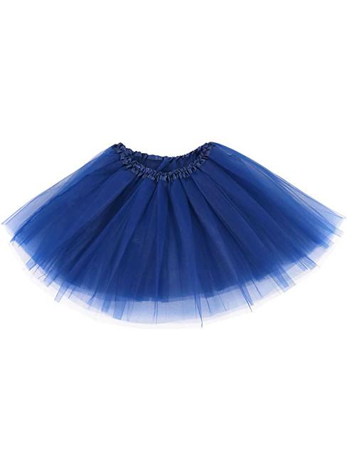 Navy Blue Tulle Tutu Skirt