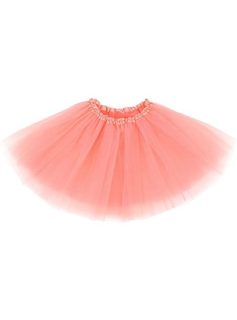 Peach Beige Tulle Tutu Skirt