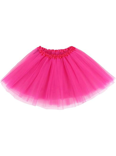 Rose Tulle Short Tutu Skirt