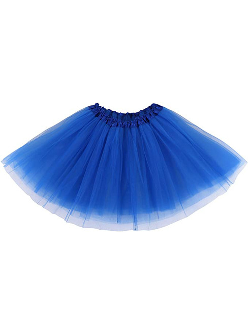 Royal Blue Tulle Short Tutu Skirt