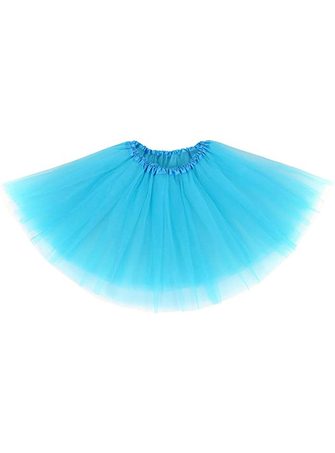 Sky Blue Tulle Short Tutu Skirt