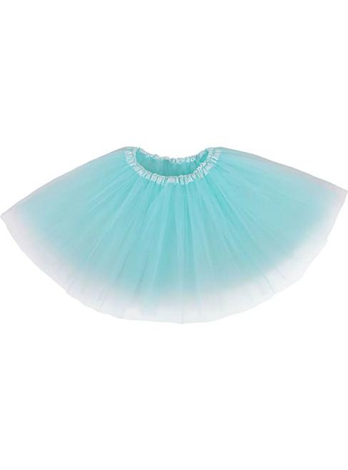 Teal Green Tulle Short Tutu Skirt