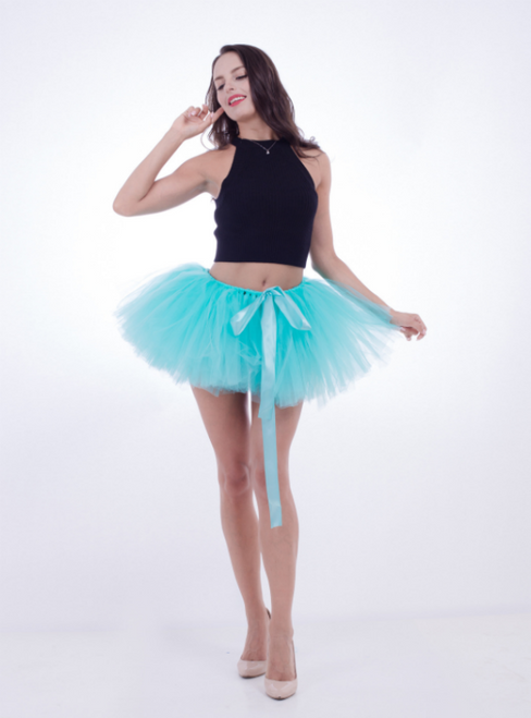 Mint Green Pettiskirt Tulle Tutu Skirt