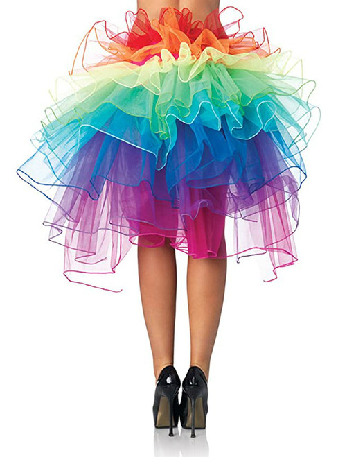Colorful Puffy Skirt Cake Rainbow Tail