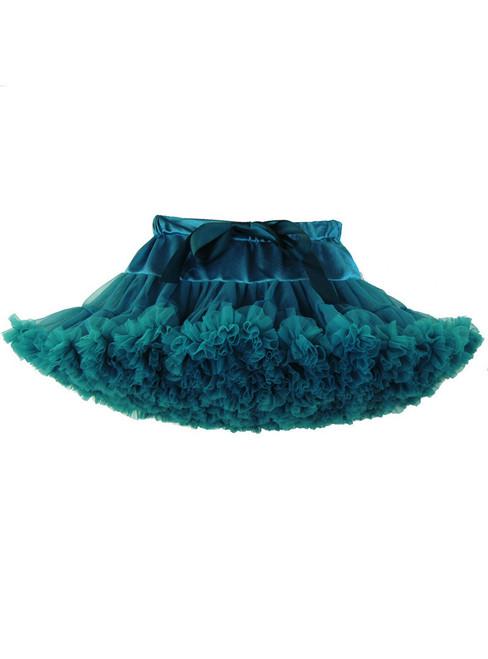 Dark Green Tulle Tutu Skirt