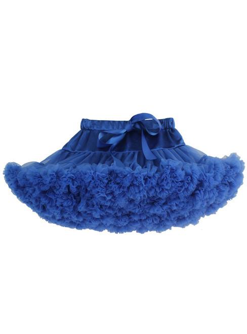 Royal Blue Girls Tulle Tutu Skirt