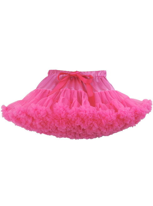 Fuchsia Girls Tulle Tutu Skirt