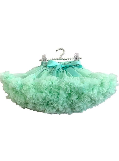 Green Tulle Short Tutu Skirt