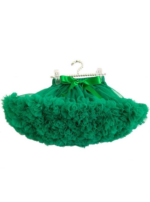 Dark Green Tulle Short Tutu Skirt