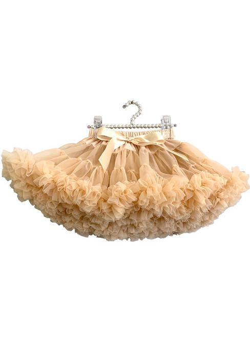 Khaki Tulle Short Tutu Skirt