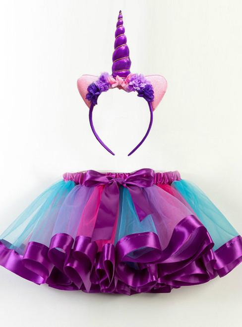 Girls Short Tulle Tutu Skirts