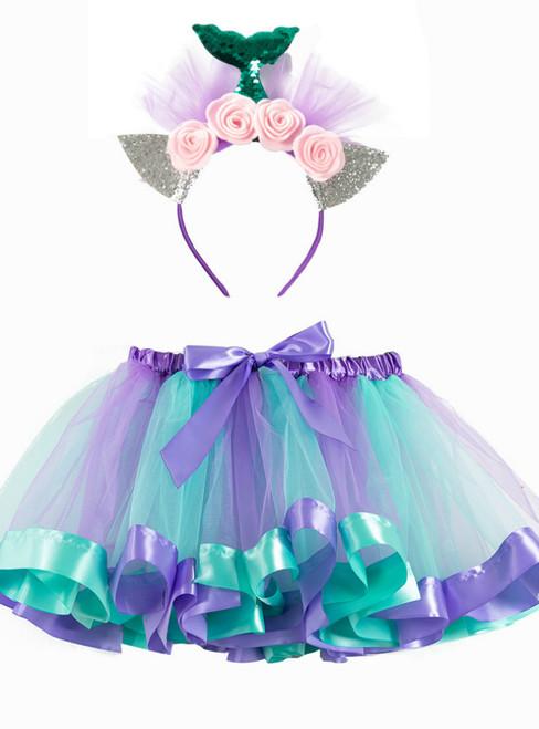 Girls Halloween Tulle Tutu Skirt