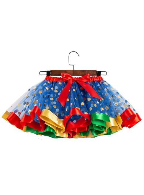 Royal Blue Tulle Point Girls Tutu Skirts