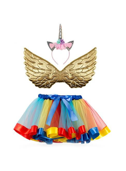 Tulle Dance Girls Tutu Skirt