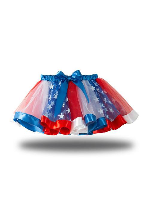Star Girl Mesh Tutu Skirt
