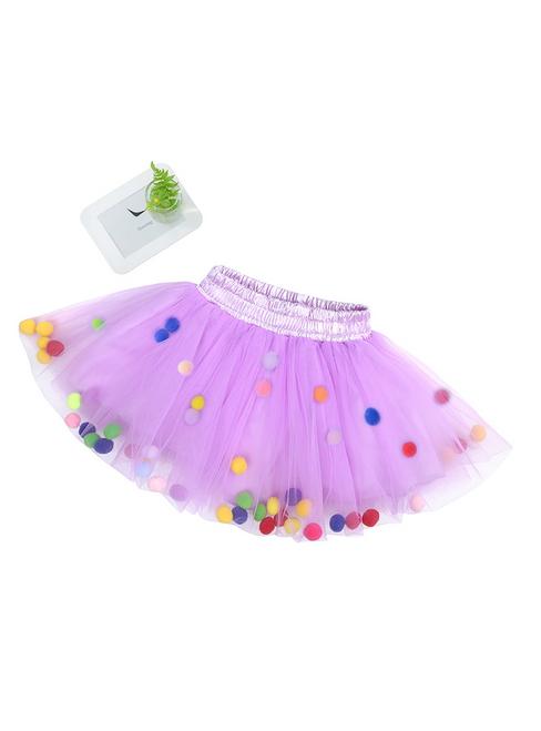 Girls Purple Tutu Skirts