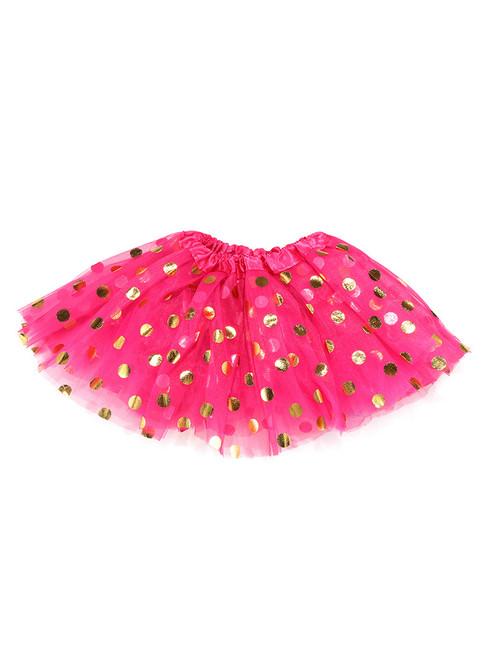 Fuchsia Gild Point Tulle Tutu Skirts