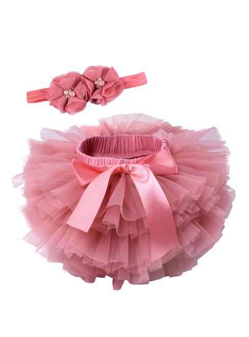 Pink Tulle Litter Baby Tutu Skirt