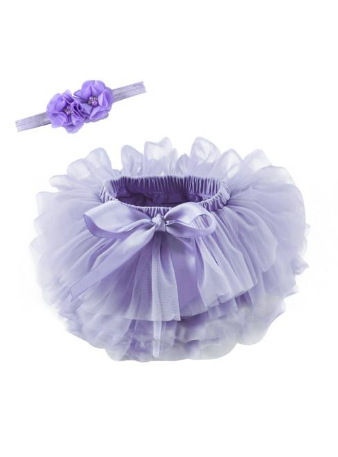 Purple Tulle Litter Baby Tutu Skirt