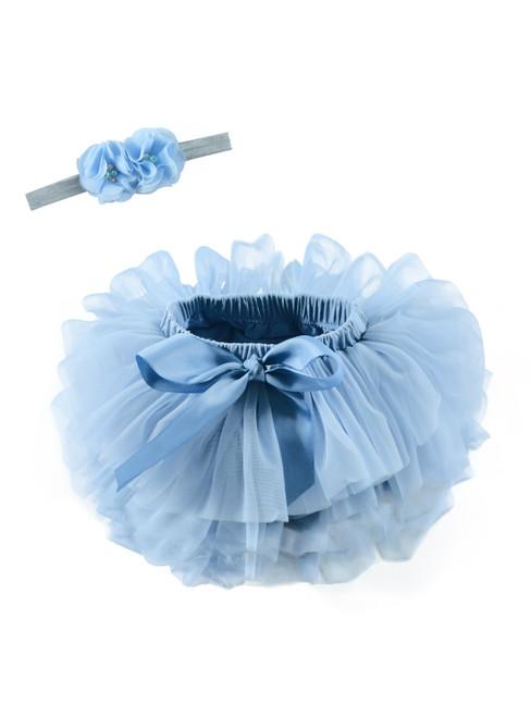 Light Blue Tulle Litter Baby Tutu Skirt