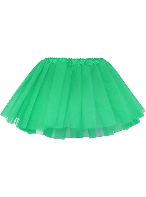 Green Baby Girl's Tulle Tutu Skirt