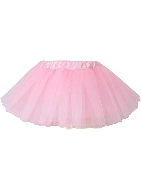 Pink Baby Girl's Tulle Tutu Skirt