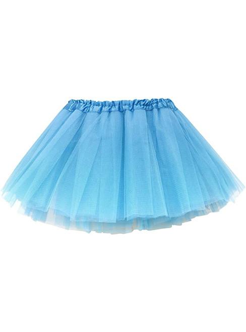 Light Blue Baby Girl's Tulle Tutu Skirt