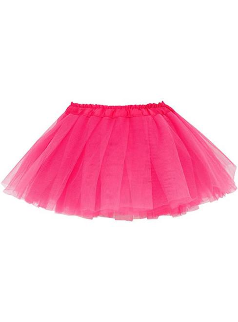 Fuchsia Baby Girl's Tulle Tutu Skirt