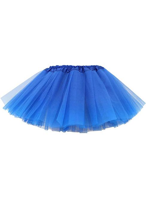 Royal Blue Baby Girl's Tulle Tutu Skirt