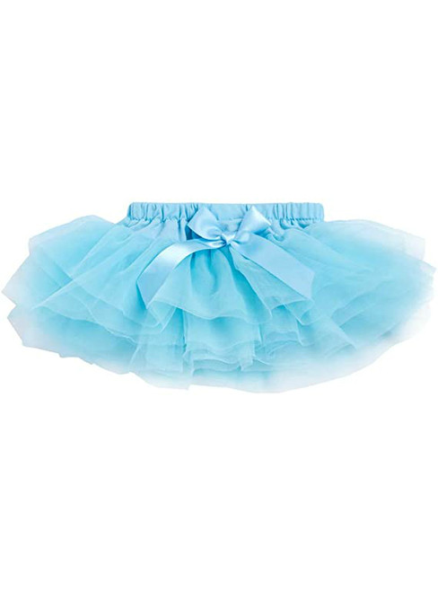Sky Blue Cute Litter Girl Tulle Tutu Skirt