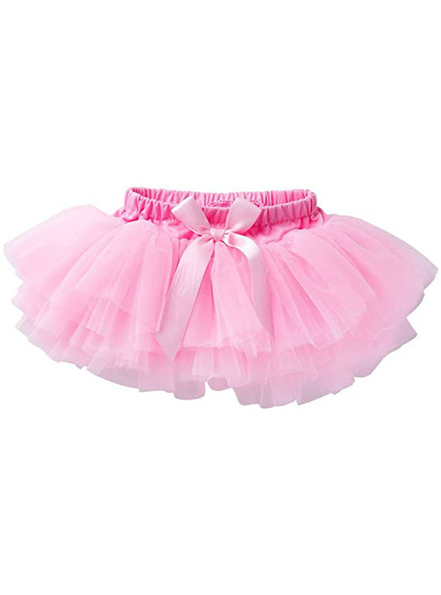 Pink Cute Litter Girl Tulle Tutu Skirt