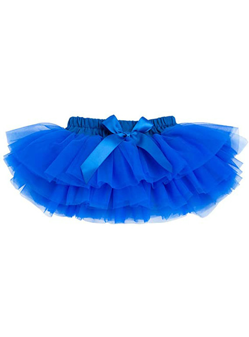 Royal Blue Cute Litter Girl Tulle Tutu Skirt