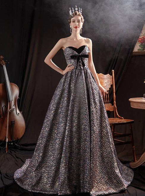 In Stock:Ship in 48 Hours Sweetheart Long Prom Dress