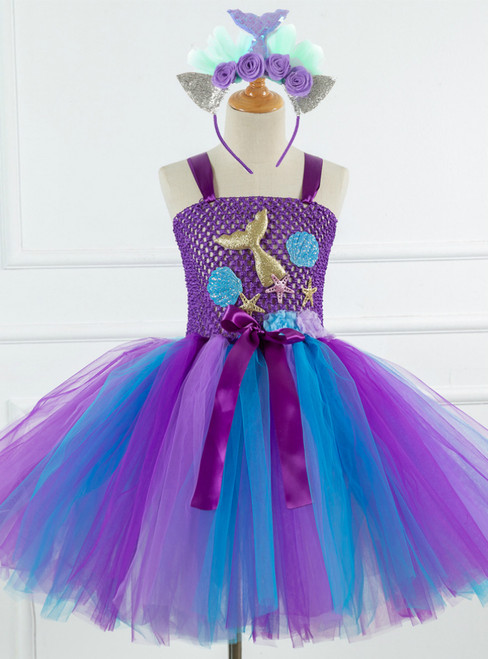Handmade Party Cosplay Tutu Tulle Dress